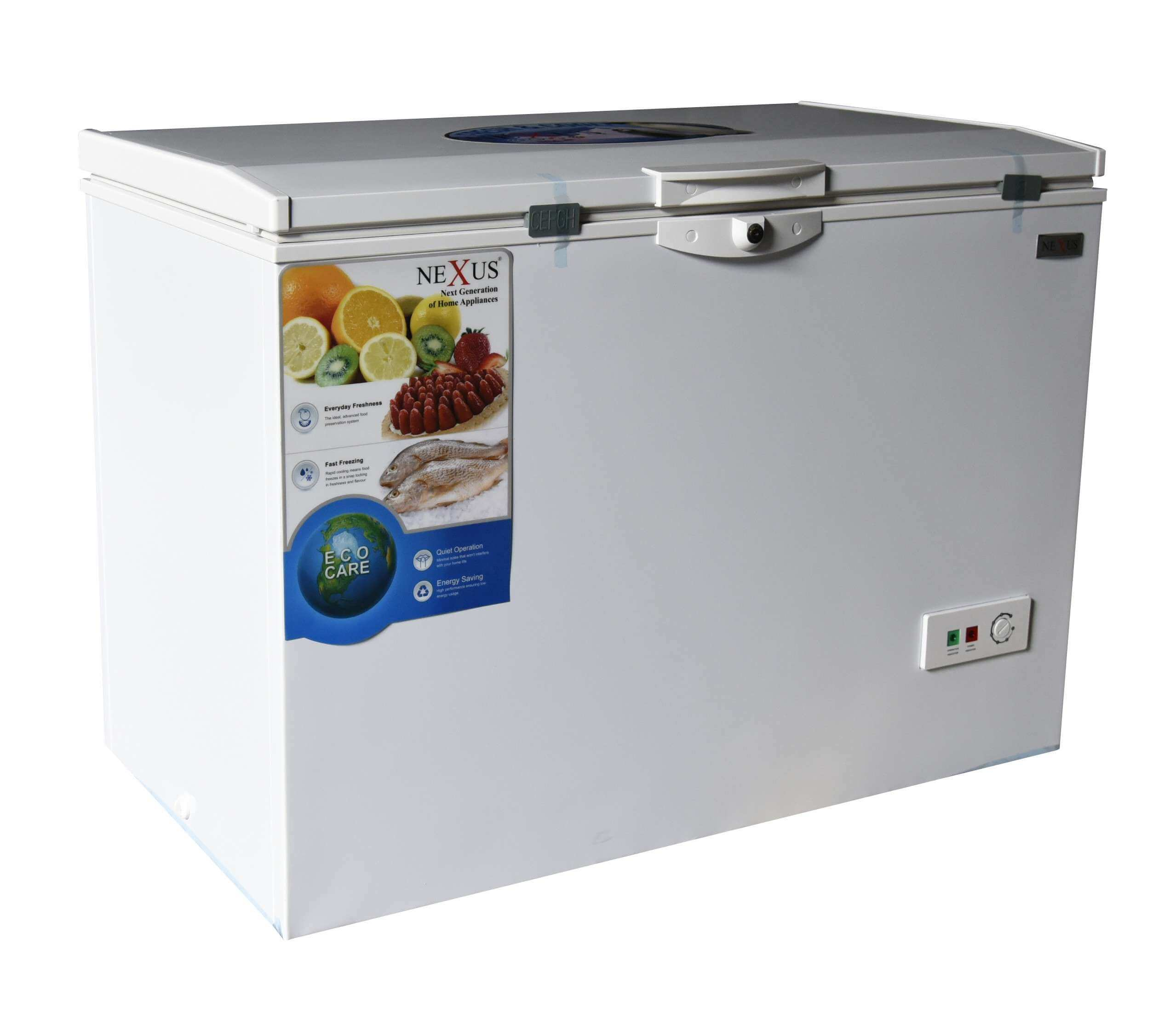 NX-390C LTR NEXUS CHEST FREEZER WITH COOL PACK WHITE