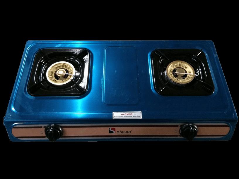S 302 1 Saisho Double Burner Gas Stove Nexus