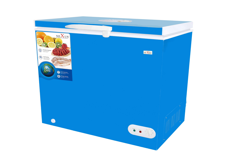 Nx 400e Ltr Nexus Chest Freezer Blue Nexus